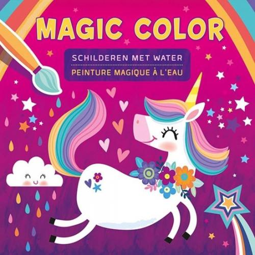 Unicorn magic schilderen met water