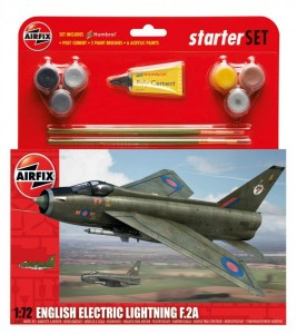 Airfix Englisch electric lightning F.2A