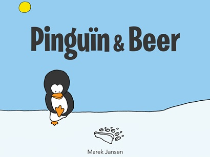 Pinguin en Beer